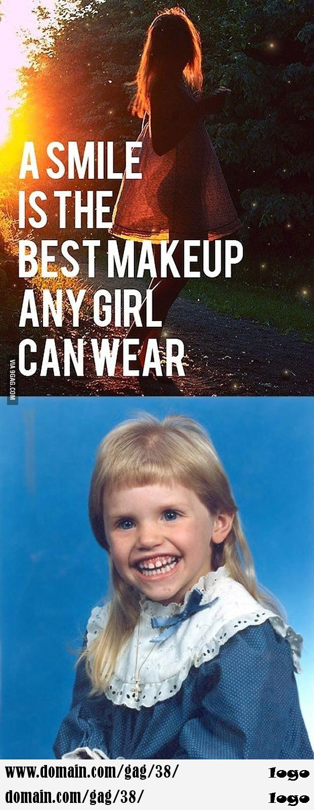 That evil smile